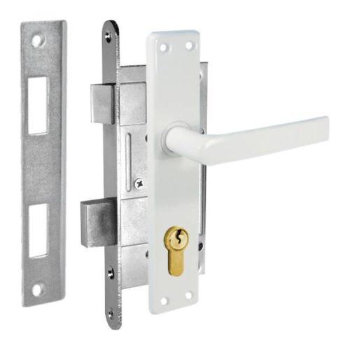 durvju slēdzene ZV45 balta