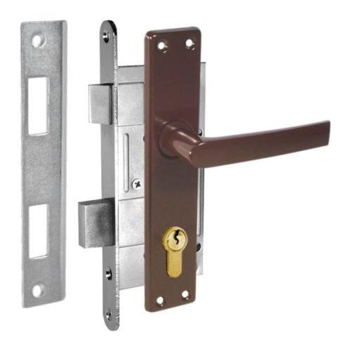 durvju slēdzene ZV45 brūna