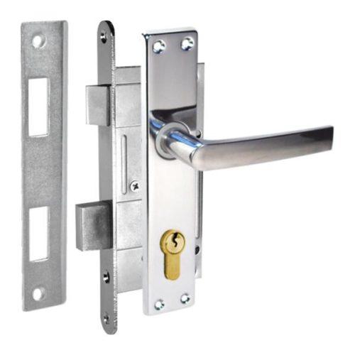 durvju slēdzene ZV45 hromēta